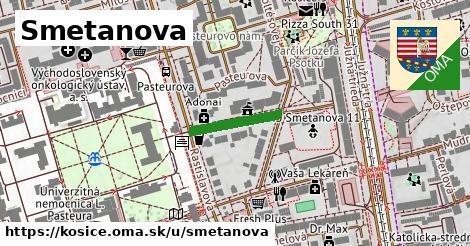 ilustrácia k Smetanova, Košice - 150m