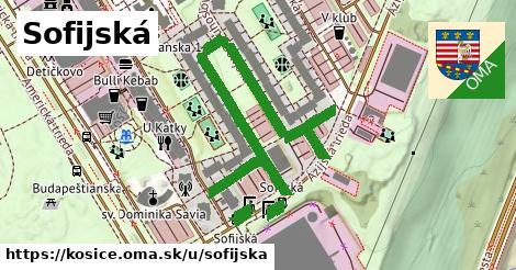 ilustrácia k Sofijská, Košice - 617m