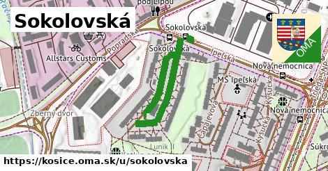 ilustrácia k Sokolovská, Košice - 412m