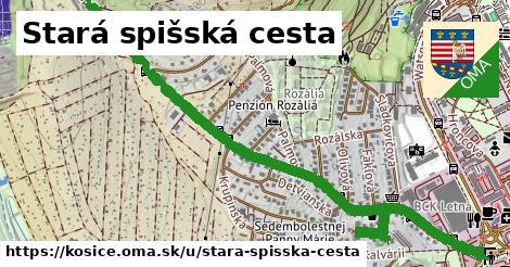 ilustrácia k Stará spišská cesta, Košice - 1,89km