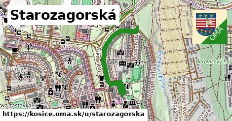 ilustračný obrázok k Starozagorská, Košice