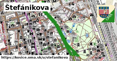 ilustrácia k Štefánikova, Košice - 1,74km