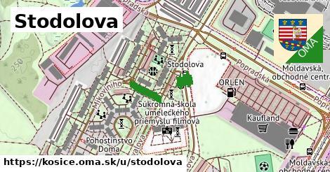 ilustrácia k Stodolova, Košice - 189m