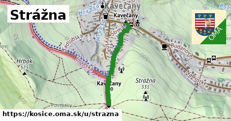 ilustrácia k Strážna, Košice - 574m