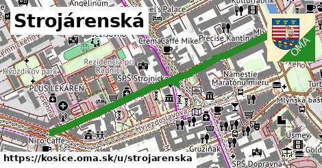 ilustrácia k Strojárenská, Košice - 557m