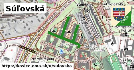 ilustrácia k Súľovská, Košice - 418m