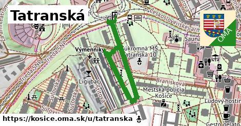 ilustrácia k Tatranská, Košice - 523m