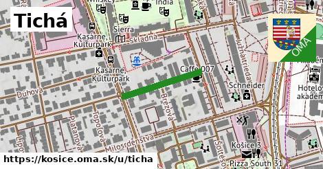 ilustrácia k Tichá, Košice - 192m