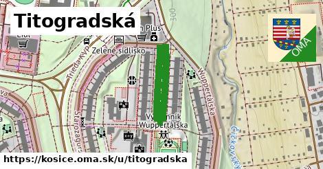 ilustračný obrázok k Titogradská, Košice