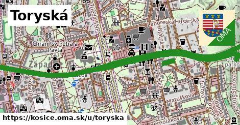 ilustrácia k Toryská, Košice - 2,9km