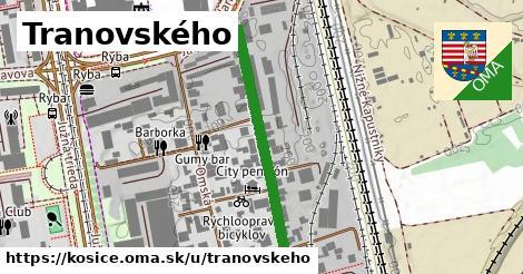 ilustračný obrázok k Tranovského, Košice
