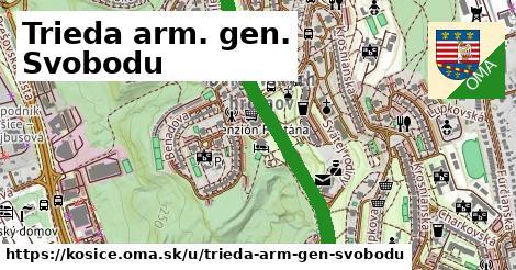 ilustrácia k Trieda arm. gen. Svobodu, Košice - 5,0km