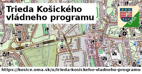 ilustrácia k Trieda Košického vládneho programu, Košice - 3,7km