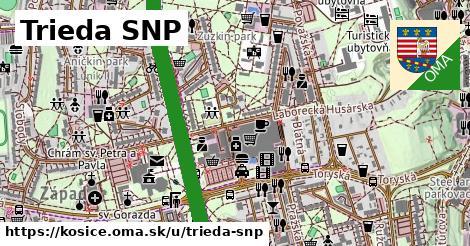 ilustrácia k Trieda SNP, Košice - 5,7km