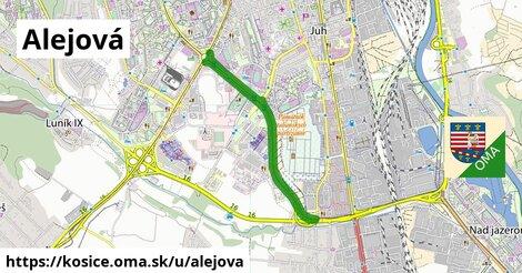 ilustrácia k Alejová, Košice - 4,8km