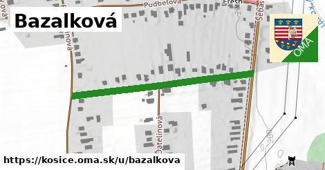 Bazalková, Košice