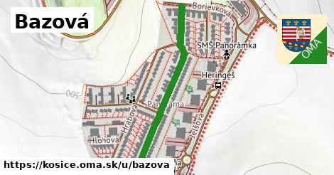 ilustrácia k Bazová, Košice - 382m