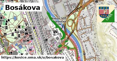 Bosákova, Košice