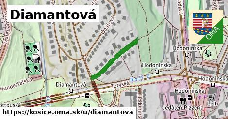 ilustrácia k Diamantová, Košice - 198m