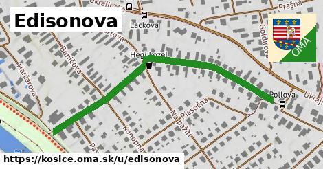 ilustrácia k Edisonova, Košice - 583m
