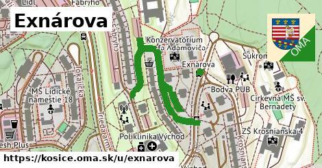 ilustrácia k Exnárova, Košice - 496m