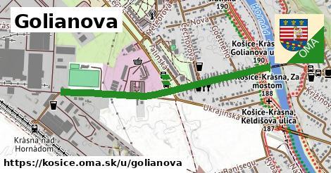 Golianova, Košice