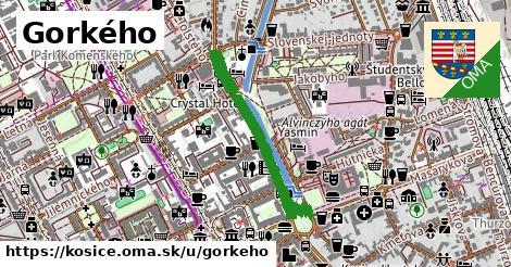 ilustrácia k Gorkého, Košice - 0,75km