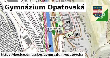Gymnázium Opatovská, Košice