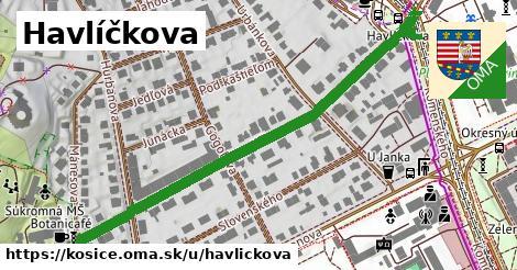 Havlíčkova, Košice