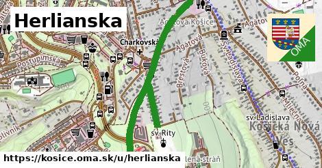 ilustrácia k Herlianska, Košice - 1,63km