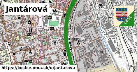 Jantárová, Košice