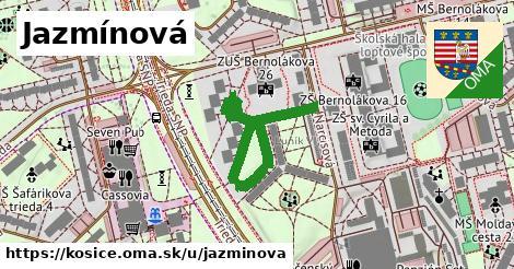 ilustrácia k Jazmínová, Košice - 195m