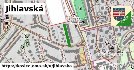 Jihlavská, Košice