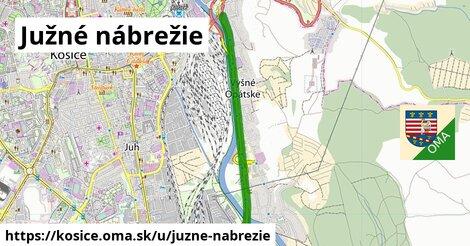 ilustrácia k Južné nábrežie, Košice - 5,3km
