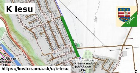 ilustrácia k K lesu, Košice - 465m