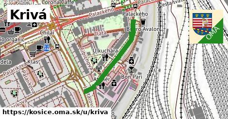 ilustrácia k Krivá, Košice - 302m
