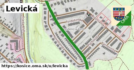 ilustrácia k Levická, Košice - 470m