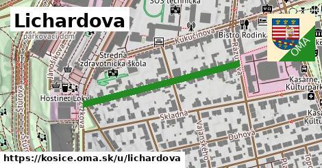 Lichardova, Košice