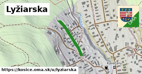 ilustrácia k Lyžiarska, Košice - 219m