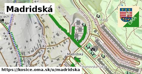 Madridská, Košice