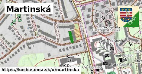ilustrácia k Martinská, Košice - 61m