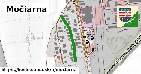 ilustrácia k Močiarna, Košice - 260m