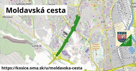 ilustrácia k Moldavská cesta, Košice - 4,4km