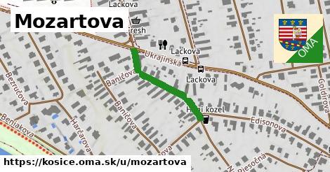 ilustrácia k Mozartova, Košice - 237m