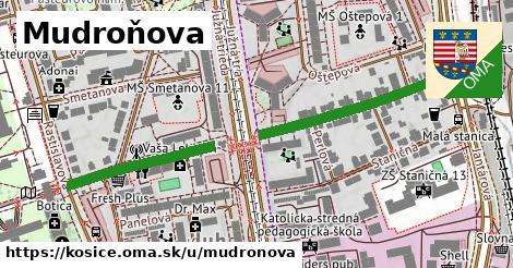 ilustrácia k Mudroňova, Košice - 500m