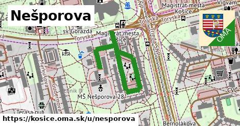ilustrácia k Nešporova, Košice - 508m