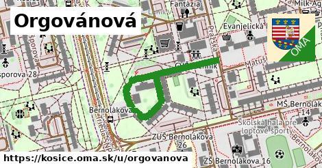 ilustrácia k Orgovánová, Košice - 429m