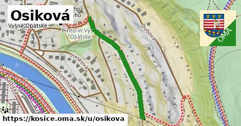 ilustrácia k Osiková, Košice - 366m