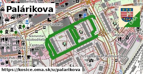 ilustrácia k Palárikova, Košice - 1,01km