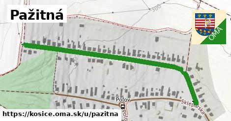 ilustrácia k Pažitná, Košice - 640m